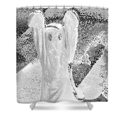 Ghost #3 Shower Curtain
