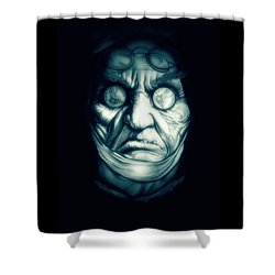 Ghost Marley Shower Curtain by Fred Larucci