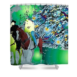Ghost Riders Shower Curtain