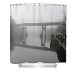 Ghost River Shower Curtain by Gordon Mooneyhan