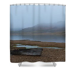Ghost Tales... Shower Curtain by Nina Stavlund