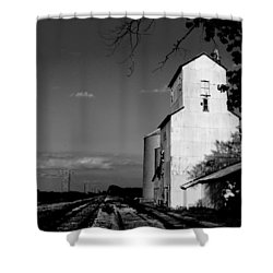Ghost Town Shower Curtain by Ed Smith