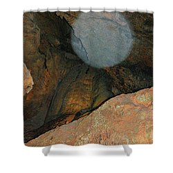 Ghostly Presence Shower Curtain by DigiArt Diaries by Vicky B Fuller