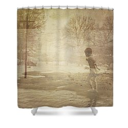Ghosts And Shadows Vi - Mistaken Shower Curtain