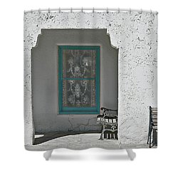 Shower Curtain featuring the photograph Ghosts by Jeff Burgess