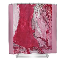 Ghosts Of The Horror Tree Shower Curtain