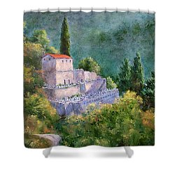 Ghosts Of The Peloponnese Shower Curtain