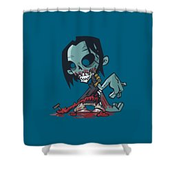 Ghoul T-shirt Shower Curtain