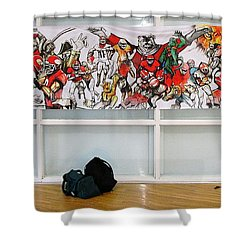 Ghsa Art Banner Prototype Shower Curtain by John Jr Gholson