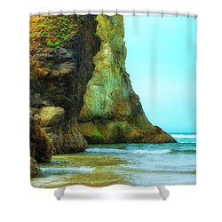 Giant Sentinels Shower Curtain