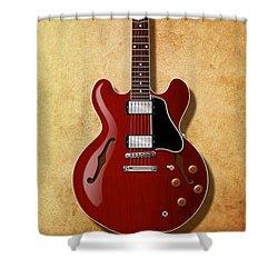 Gibson Es-335 Since 1958 Shower Curtain