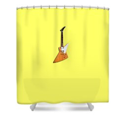 Gibson Explorer 1958 Shower Curtain by Mark Rogan