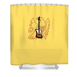 Gibson Firebird 1965 Shower Curtain