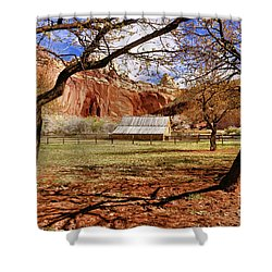 Gifford Barn 3 Shower Curtain