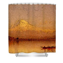 Gifford Sanford Robinson Mount Rainier Bay Of Tacoma Shower Curtain