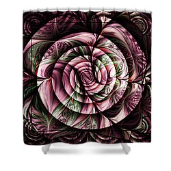 Gift For A Lady Abstract Shower Curtain by Georgiana Romanovna