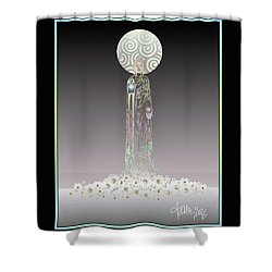 Gifts Of The Buddha II Shower Curtain