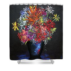 Gifts Of The Garden Shower Curtain by M Diane Bonaparte