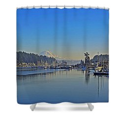 Gig Harbor, Wa Shower Curtain