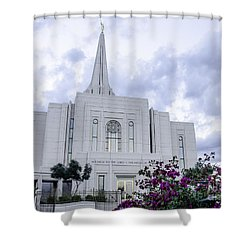 Gilbert Arizona Lds Temple 2 Shower Curtain