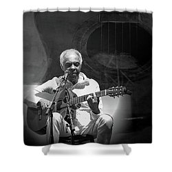 Gilberto Gil Shower Curtain