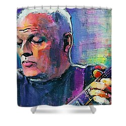 Gilmour Wish You Were Here Shower Curtain