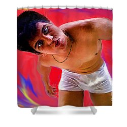 Gimme  A  Kiss Shower Curtain
