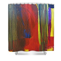 Ginger Hall - Freetown - Sierra Leone  Shower Curtain