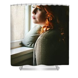 Ginger  Shower Curtain by Pamela Patch