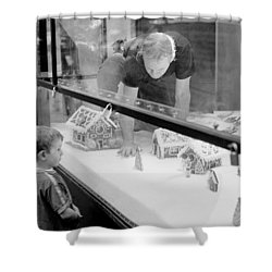 Shower Curtain featuring the photograph Gingerbread Dream by Dave Beckerman