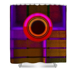 Ginza Twilight Shower Curtain by Charles Stuart