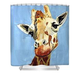 Girard Giraffe Shower Curtain