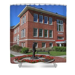 Girard Hall Day Shot Shower Curtain