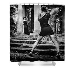 Girl #331822 Shower Curtain