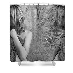 Girl #4335 Shower Curtain by Andrey Godyaykin
