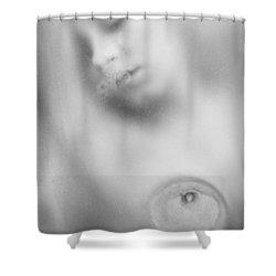 Girl #7355 Shower Curtain by Andrey Godyaykin