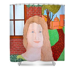 Girl Delante Shower Curtain