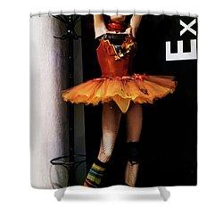 Girl_07 Shower Curtain