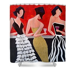 Girl's Night Out Shower Curtain