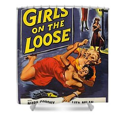 Girls On The Loose Shower Curtain
