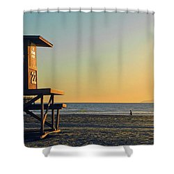 Give Me A Minute Shower Curtain by Everette McMahan jr