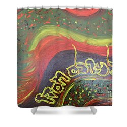 Give Thanks To The Lord  Shower Curtain