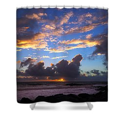 Give Us This Day Shower Curtain