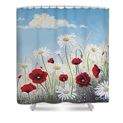 Give Me A Daisy Shower Curtain