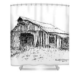 Given Up To Nature Shower Curtain