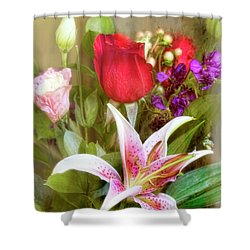 Given With Love Shower Curtain