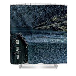 Glacial Lake Shower Curtain