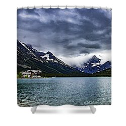 Glacial Getaway Shower Curtain
