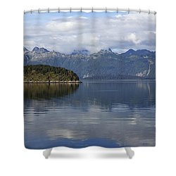 Glacier Bay 10 Shower Curtain