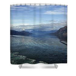 Glacier Bay 7 Shower Curtain